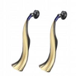 Kask integralny LS2 FF352 Rookie Flutter Black Purple Damski Kobiecy