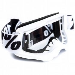 Kominiarka motocyklowa czarna - jeden duży otwór na oczy