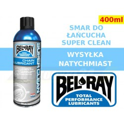 BEL-RAY smar do łańcucha Super Clean spray 400ml