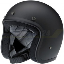 Kask BILTWELL BONANZA Harley Davidson czarny mat