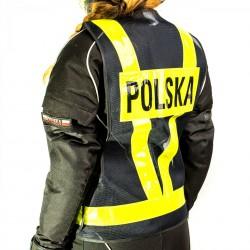 Kask BILTWELL BONANZA Harley Davidson krwisty czerwony