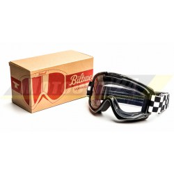 Gogle okulary Biltwell Bolts szachownica Bonanza Gringo