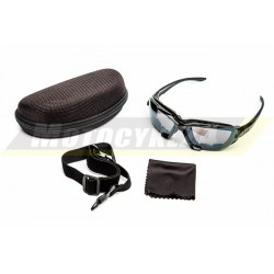 Gogle, okulary motocyklowe, rowerowe LEOSHI 2w1