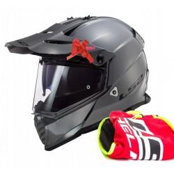 Gogle, okulary motocyklowe BANDITO podobne do HELD niebieskie