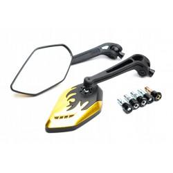 Filtr powietrza stożkowy chrom 30mm niski