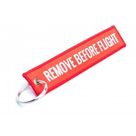 Brelok wisior do kluczy RBF Remove Before Flight