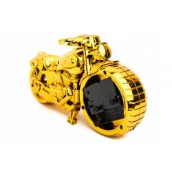 Maska neoprenowa Szkieletor niebieska pełna Harley