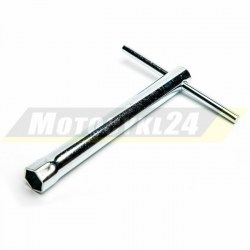 Klucz do świec zapłonowych 18cm długi 18mm świeca