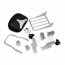 Kask BILTWELL BONANZA Harley Davidson postarzany biały