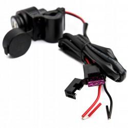 Kierunkowskaz pomarańczowy strzałka carbon